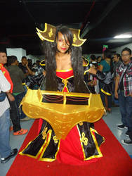 Dark Sona lol cosplay
