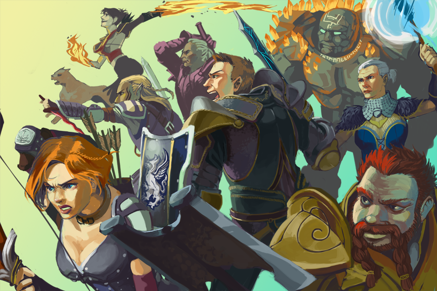 Dragon Age Origins By Kitewing