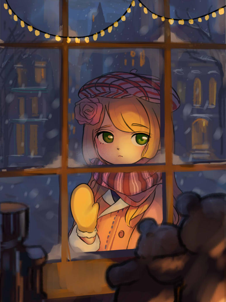 Anime Lonely Winter Lonely Winter by BiSha...
