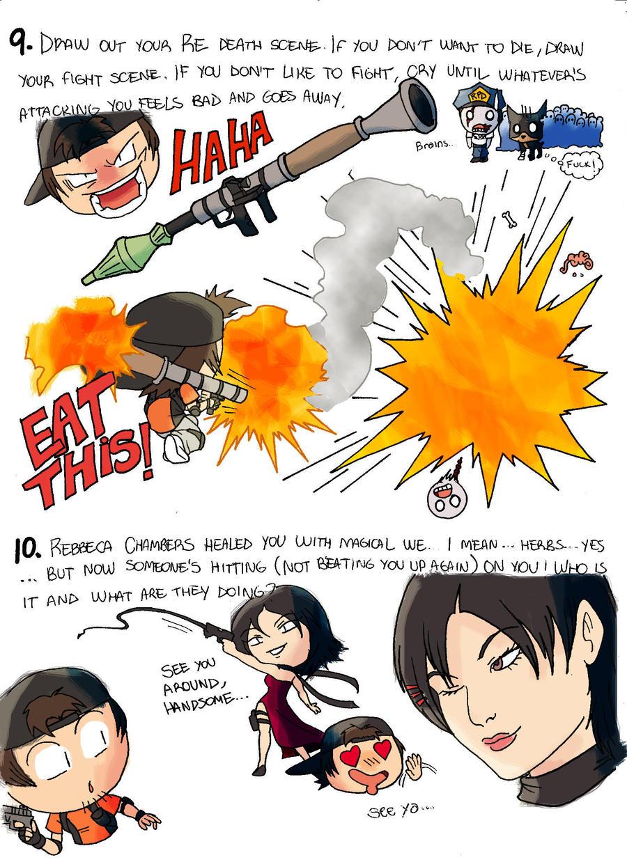 Resident Evil Meme 5 by bleyerart