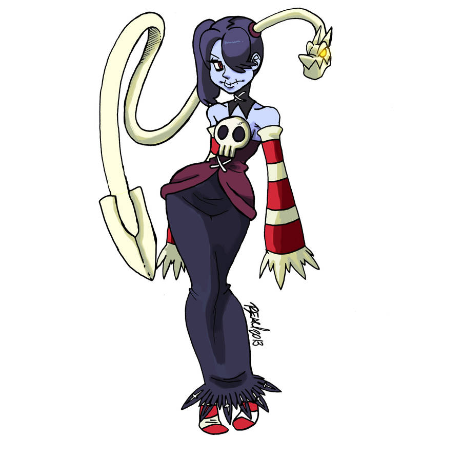 SKULLGIRLS Squigly by bleyerart on DeviantArt