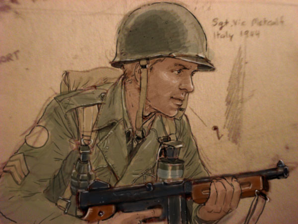 sgt vic italy ww2 by jesusfood on deviantart