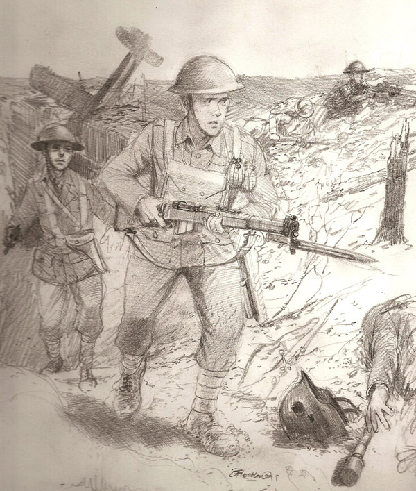 British Soldiers ww1 by JesusFood