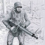 german machine gunner ww1