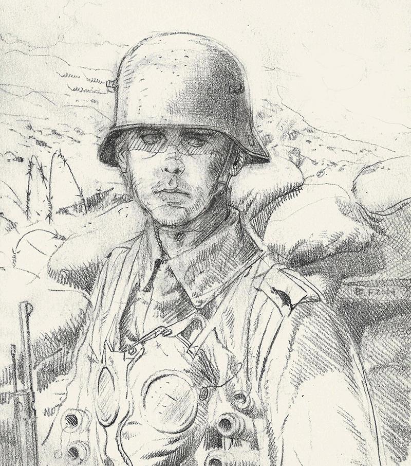late war german soldier 1918 by JesusFood