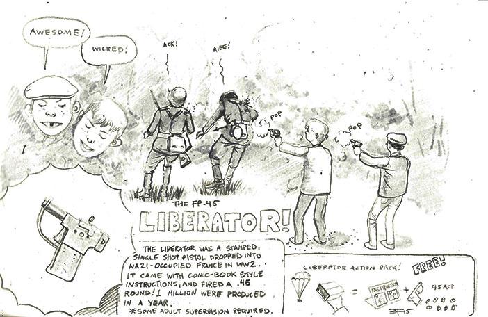 the Liberator by JesusFood