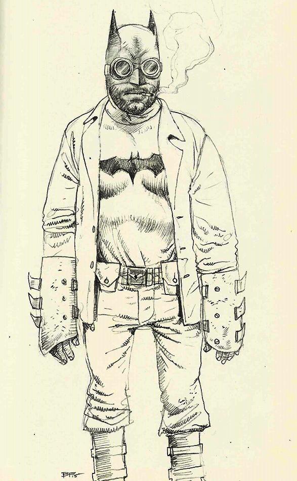 swarthy Batman by JesusFood