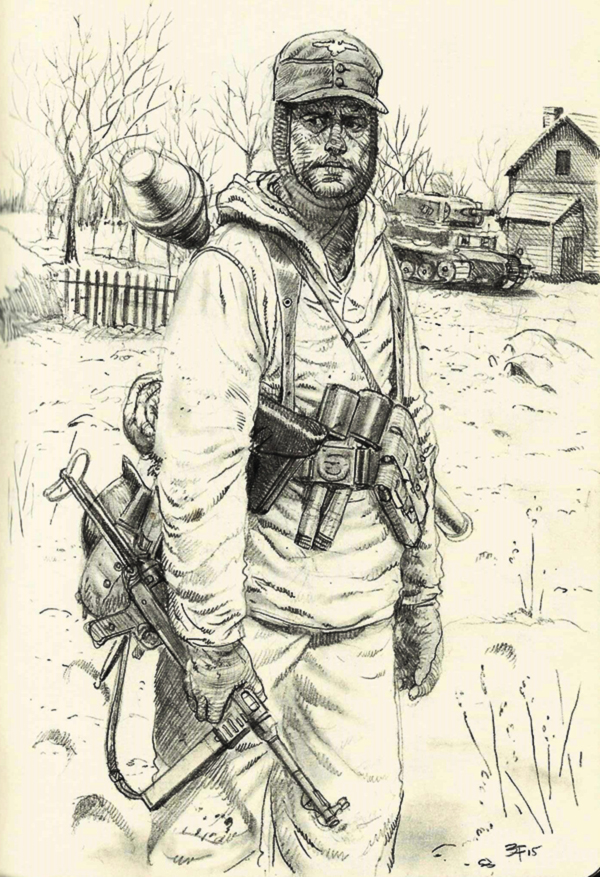 german in winter gear- ww2 by JesusFood