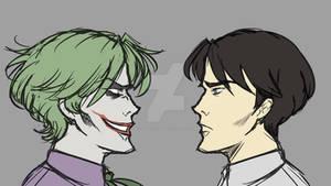 Jack Napier vs The Joker