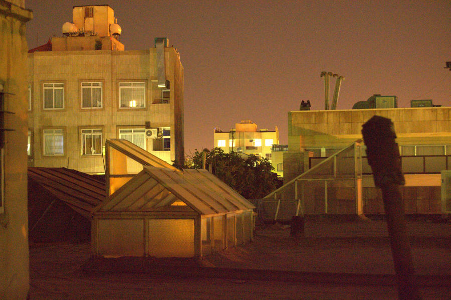 Noisy little houses over the roof by Lethifold