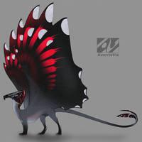 Dragon design: wallcreeper by AverrisVis