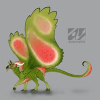 Dragon design: watermelon