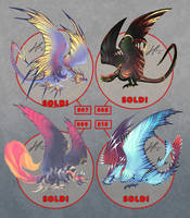 More Wyvern Designs Auction [CLOSED] by AverrisVis