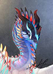 Dragon Design #005 Portrait by AverrisVis