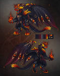 Dragon Design #026 Auction [CLOSED] Infernal Lord