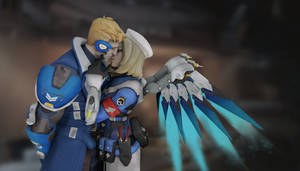 Mercy x Soldier | Overwatch