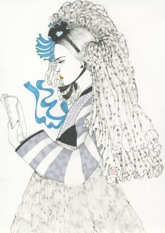 Korean Fashion Illustration