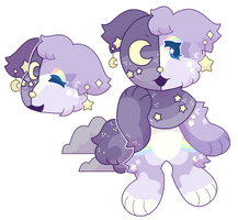 closed added / night time bear by remiiQ