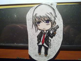 Zero - Grell keychain for my friend (1) by shinarei