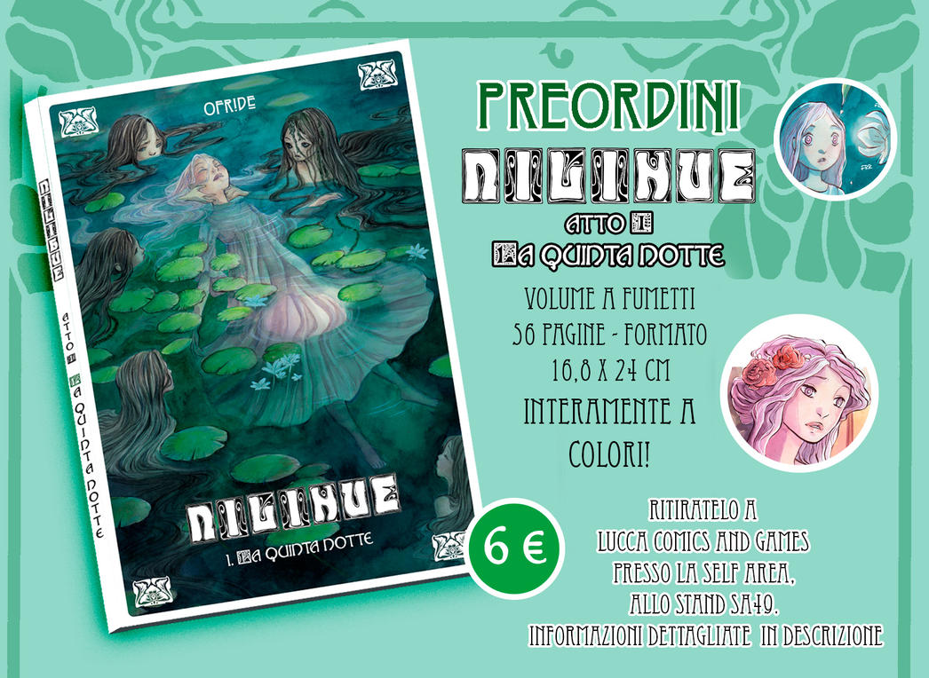 PREORDER NILIHUE' comic book by Ofride