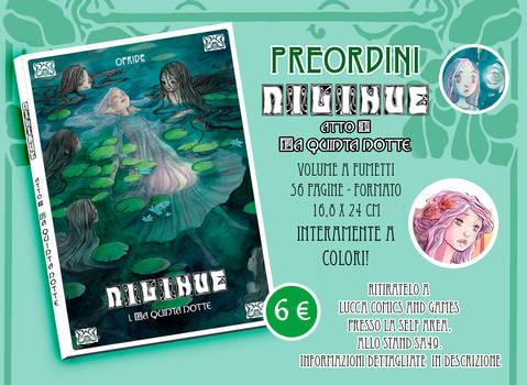 PREORDER NILIHUE' comic book
