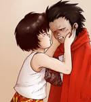 Tetsuo and Kaori