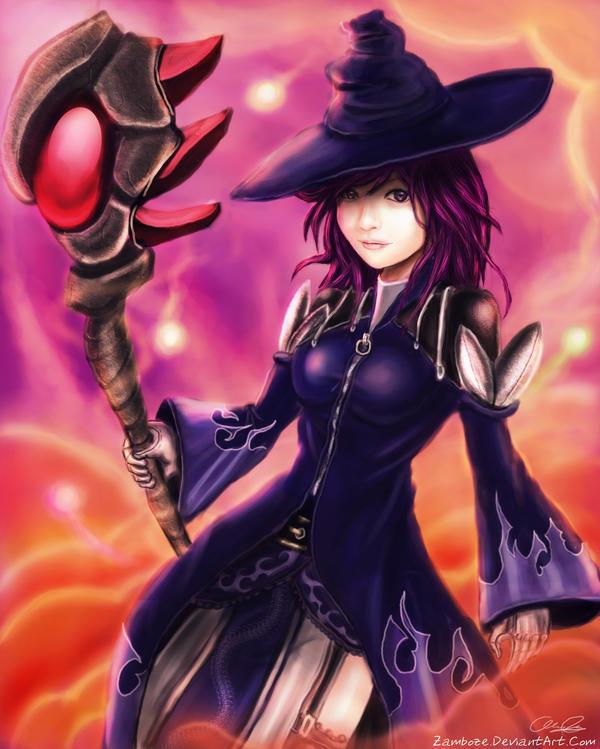 Eve: The Violet Witch by zamboze