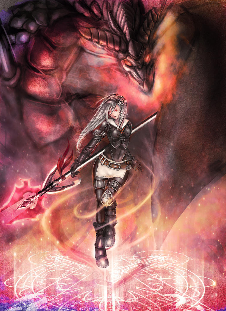 Dragon Master by zamboze