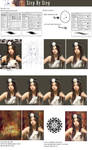 Min Hyo Rin step by step