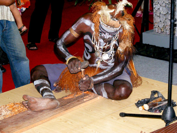 JI Expo: Asmat Tribe by zamboze