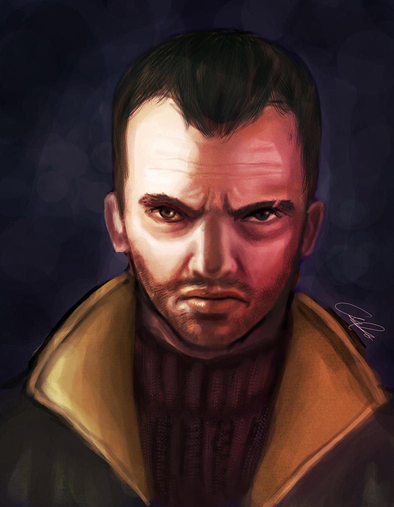 GTA 4: Niko Bellic by zamboze