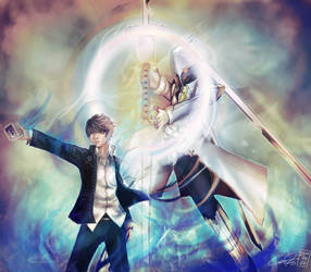 Persona 4: Izanagi Ookami by zamboze