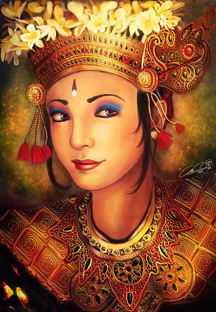Balinese Dancer by zamboze