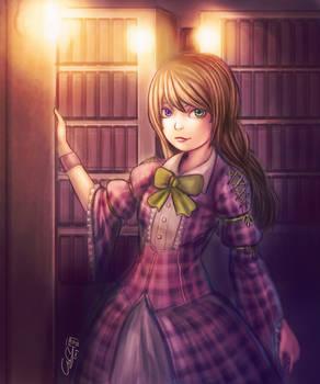 Gothic Lolita Librarian
