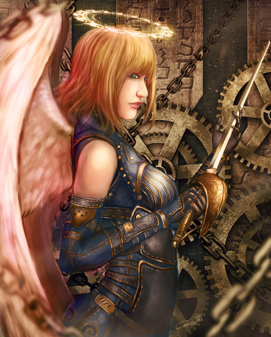 Steam Angel by zamboze