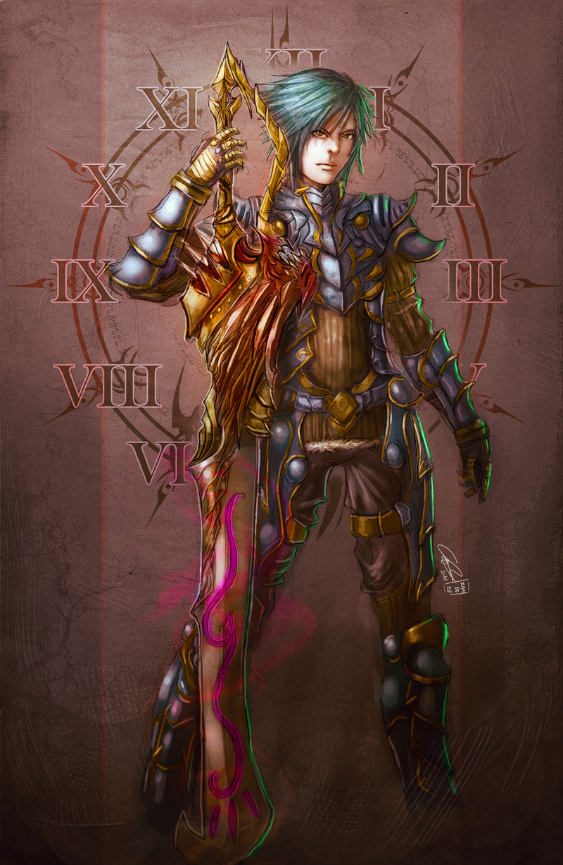 Warrior of Time by zamboze