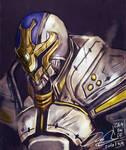 Kamen Rider Ixa speedpaint