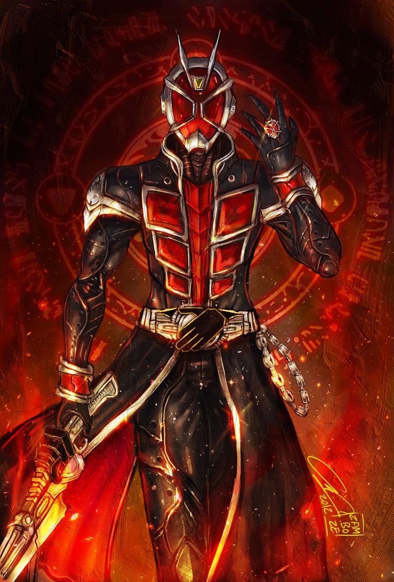 Kamen Rider Wizard by zamboze on DeviantArt
