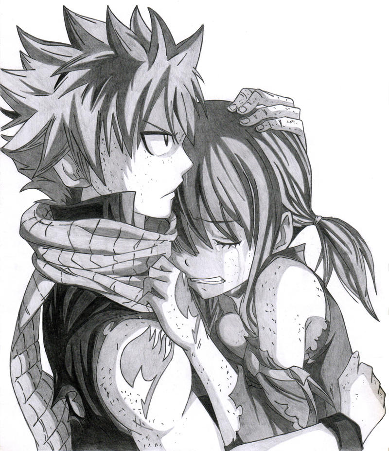Natsu y lucy by alexanderd9j on deviantart - Lucy fairy tail drawing ...