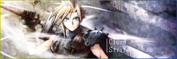 Cloud Strife by LunarWingCloud
