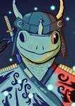 Samurai Frogg
