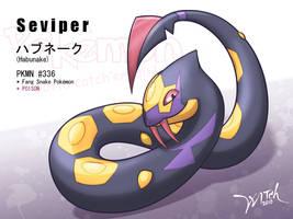 PKMN No.336 - Seviper by WittNV