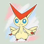 Victini - Animation Test