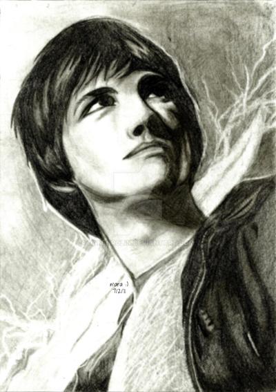 Percy Jackson in Pencil by rakenrolin on DeviantArt