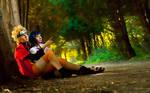 Hinata and Naruto cosplay