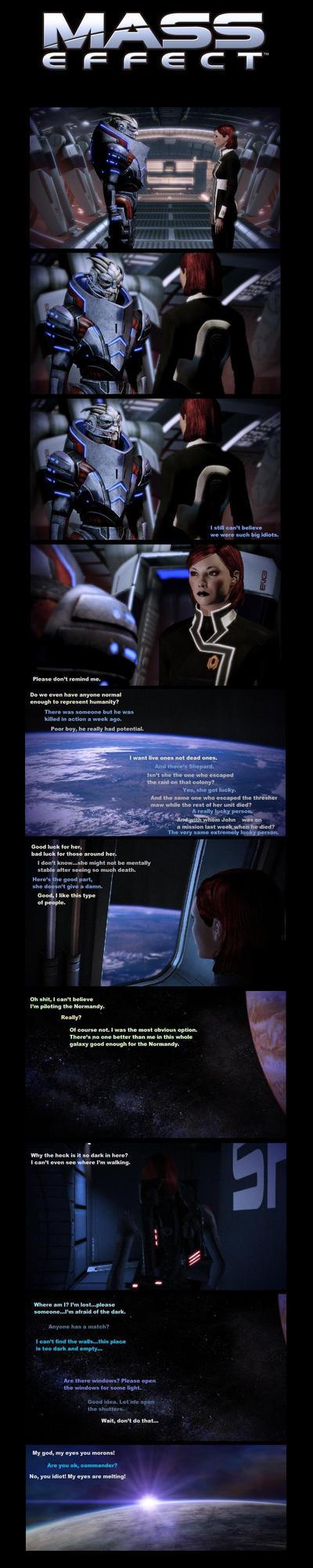 Mass Effect Flashback - P1 by Pomponorium