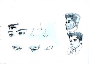 how to draw zayn malik chibi