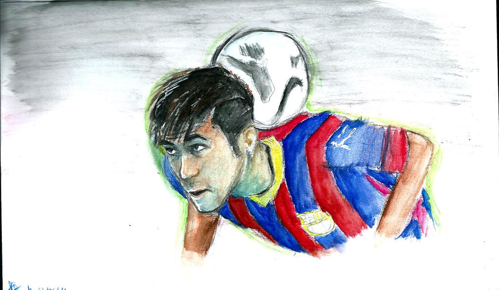 Neymar by aoika draw