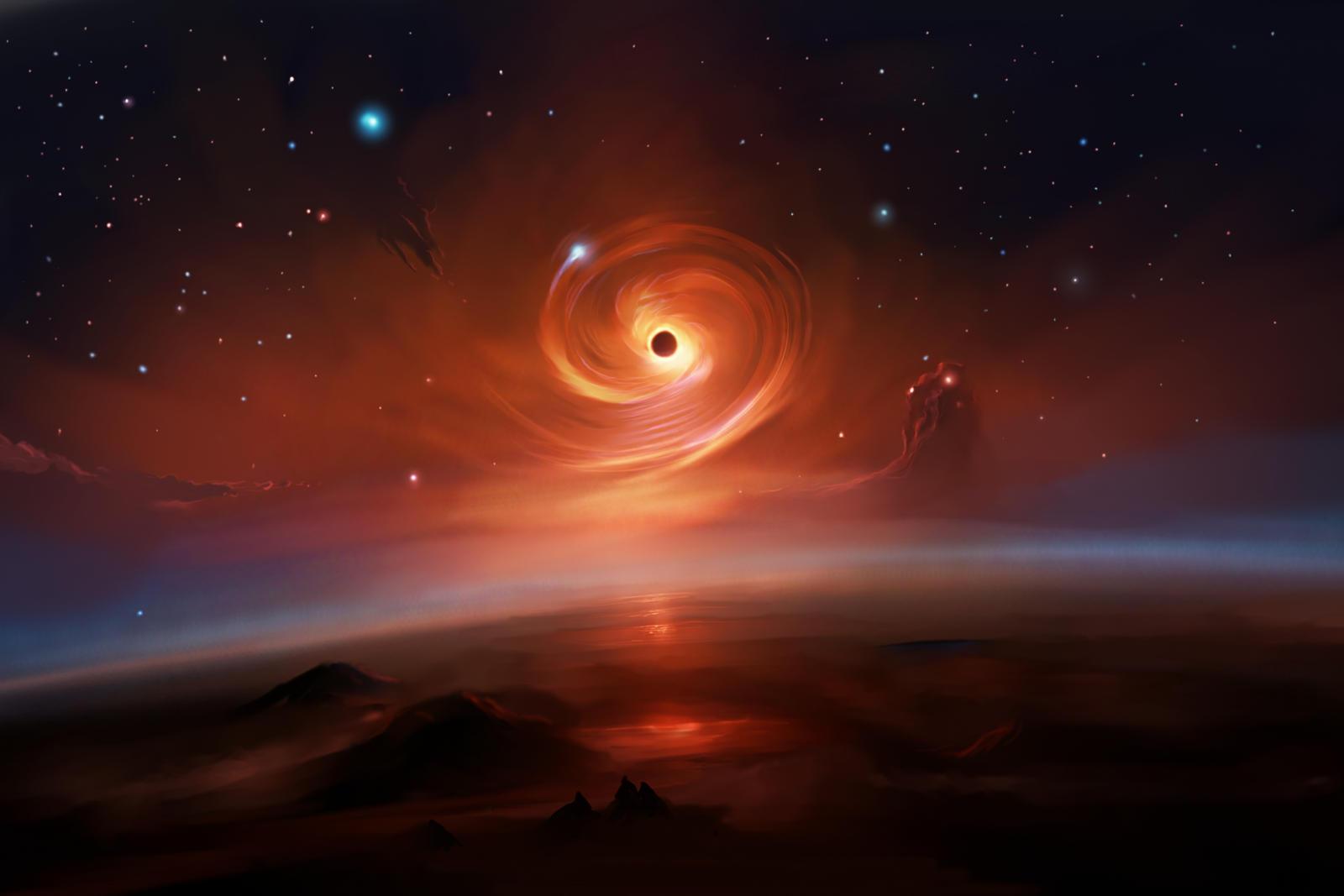 Pre Black Hole Reveal by ShootingStarLogBook