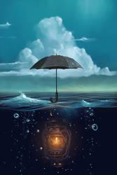 Sky Umbrella by ShootingStarLogBook
